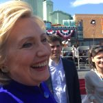 Hilary Clinton at LA Vision Theatre 6 June 16