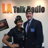 CRS and Commander Tim Shaner, American Legionnaires